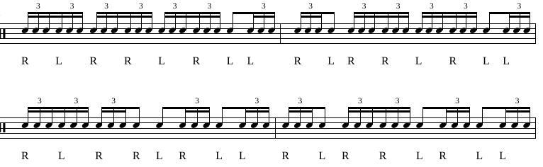 Paradiddles 10