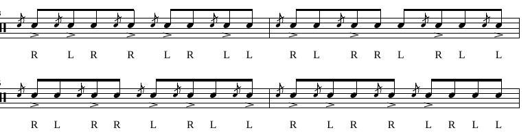 Paradiddles 11