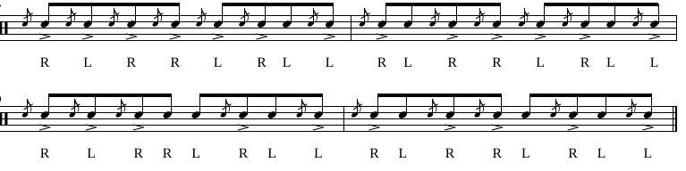 Paradiddles 12