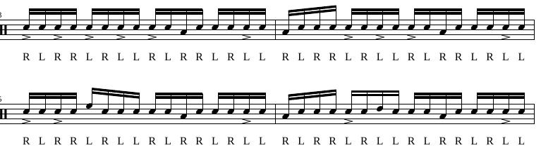 Paradiddles 4