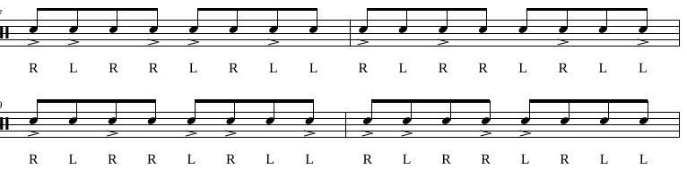 Paradiddles 5