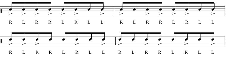 Paradiddles 6