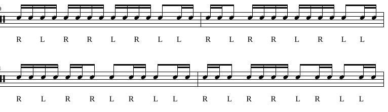 Paradiddles 8